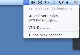 Installation OpenVPN BigBlueButton für MacOS - Learning
